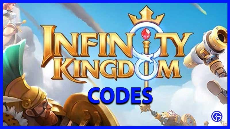 Infinity Kingdom Codes