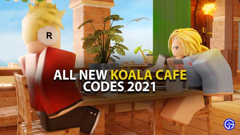 ROblox Koala Cafe Codes