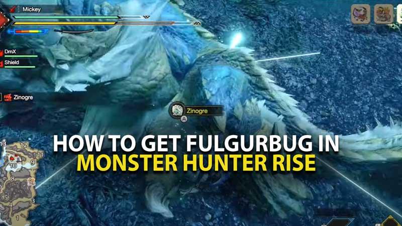 MH Rise Fulgurbug location guide