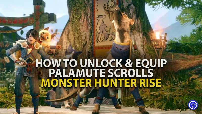 MH Rise Palamute Scrolls Guide