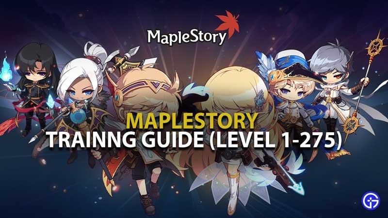 Maplestory Training Guide 2021