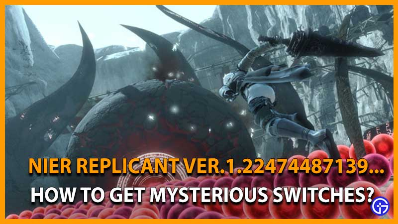 Nier Replicant Mysterious Switches