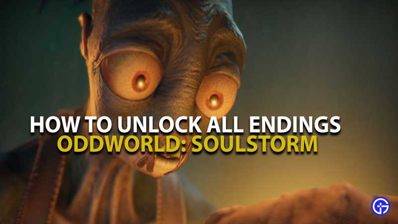 Oddworld Soulstorm Endings Guide