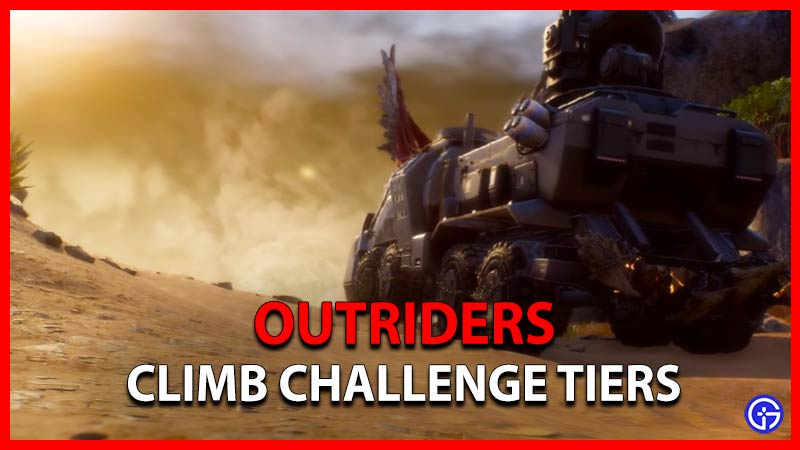 Outriders How To Increase Challenge Tier In Expeditions