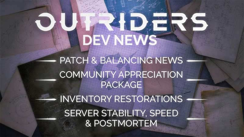 Outriders nerf list