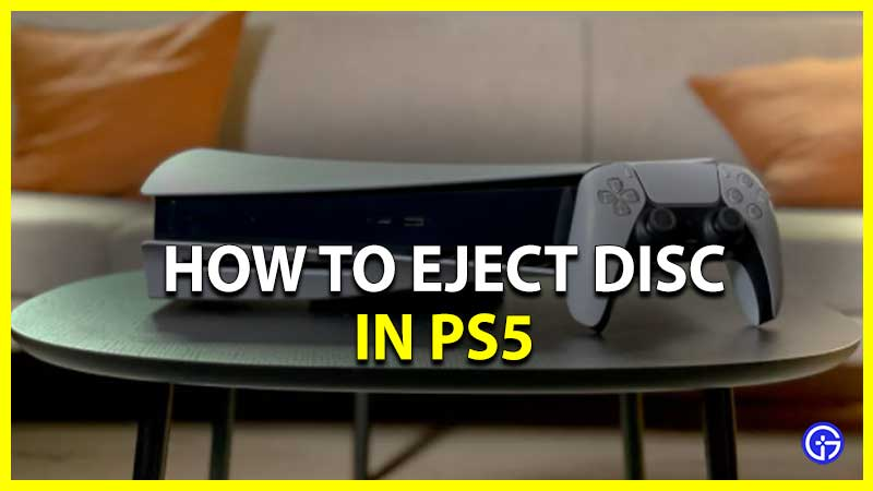 Eject Disc PS5