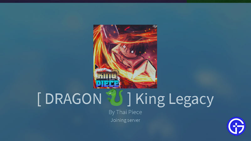How to Redeem Dragon King Legacy Codes