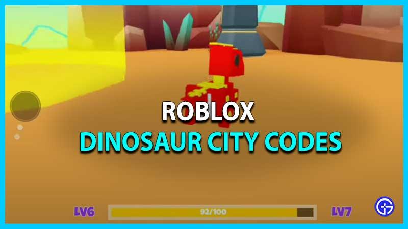 Roblox Dinosaur City Codes
