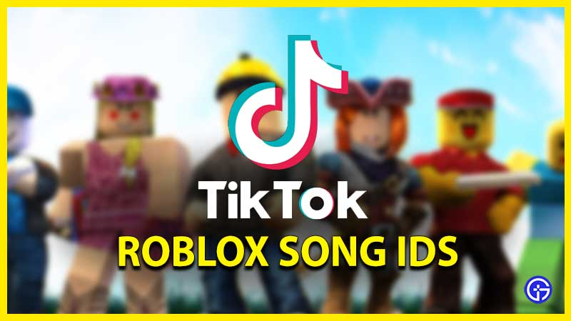 Roblox TikTok Music ID Codes