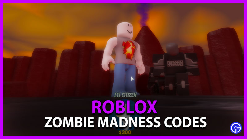 Roblox Zombie Madness Codes Latest