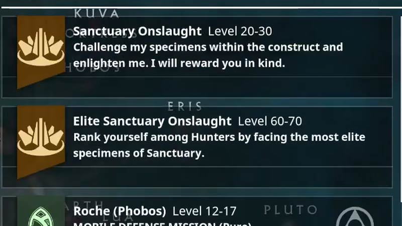 Sanctuary Onslaught