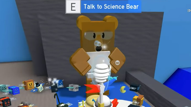 Science bear