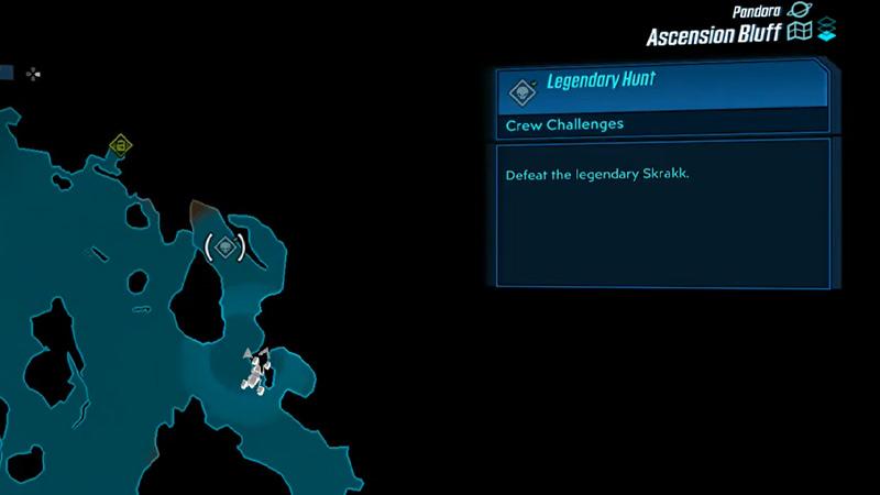 Skrakk borderlands 3 Location, Kill Strategy, And Rewards