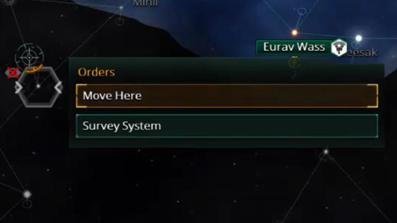 Survey system Stellaris
