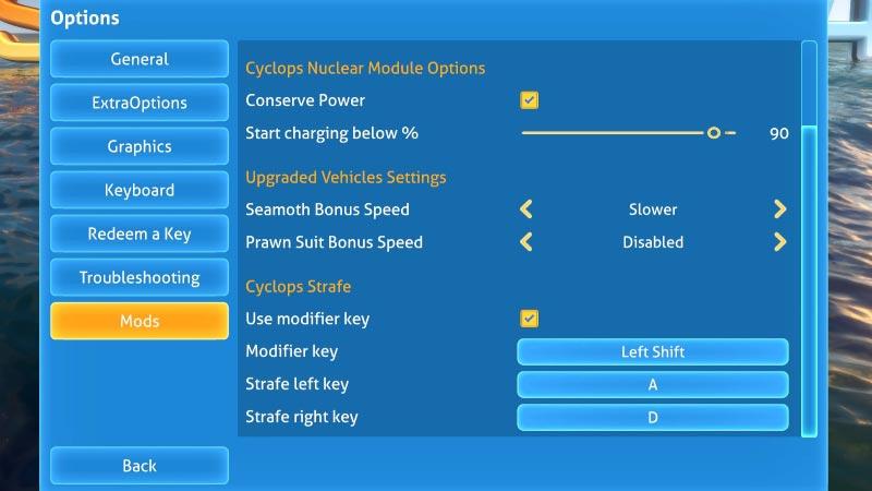 Subnautica Upgraded Vehicles Mod