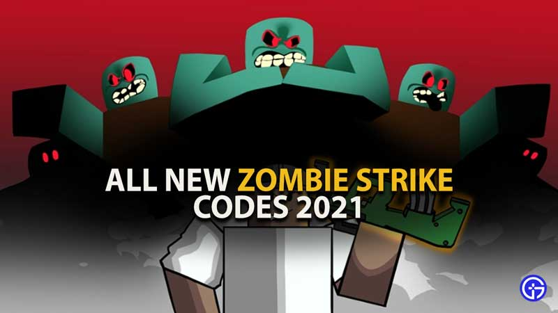 Zombie Strike is one of Roblox games that has already been visited by more than 100 million visitors. Created in August 2019, it has become quite popular among Roblox fans. Similar to other Roblox games, the developer of the game keeps offering new rewards through Zombie Strike codes.  The only reason why thousands of people search for Zombie Strike codes on the internet is getting hands on the latest and valid code is a tedious task because it expires in a jiffy. If you too are having trouble finding new codes to redeem in Zombie Strike then don't worry, we have got you covered.  About Zombie Strike Similar to other Zombie games, Zombie Strike is a Roblox game, wherein you will have to defeat a lot of zombies and bosses. You will only be able to defeat them when you level up your character and have powerful weapons in your hands.  To upgrade items in Zombie Strike, players will need Caps. There are players who are wondering how to get Caps in the game. Making your work a lot easier, we have enlisted a bunch of Zombie Strike codes that will get you a lot of Caps in the game.  Here Are All The Latest Zombie Strike Codes List Gamer Tweak is known to provide promo codes of all Roblox games and the only reason why millions of fans trust this site is it keeps updating new codes whenever they become available. Similar to other games, we tested and verified the following Zombie Strike codes before updating this post. However, if you found any code is invalid or expired, do let us know about that code in the comment section below.  Here's a full list of Zombie Strike codes and what they provide when redeemed: LOOT - Redeem this code and get 1,500 Caps COWBOY - Redeem this code and get 1,500 Caps ARENA - Redeem this code and get 1,500 Caps PRIZE - Redeem this code and get 1,500 Caps COOL - Redeem this code and get 1,500 Caps Strike - Redeem this code and get 1,500 Caps EVIL - Redeem this code and get 1,500 Caps TRANSRIGHTS - Redeem this code and get a Voucher for a Powerful Weapon ZOMBIE - Redeem this code and get a Voucher for a Powerful Weapon goblin - Redeem this code and get a 1,500 Caps How Do I Redeem Codes in Zombie Strike? Redeeming codes in Zombie Strike is too easy. However, if you have valid codes but don't know how to use these codes then follow these simple steps: Launch Zombie Strike Search for the Twitter icon on the right side of the screen Enter any of the above-mentioned codes into the 'Enter Code area Hit the Submit button to get your reward That's everything you need to know about Roblox Zombie Strike codes.