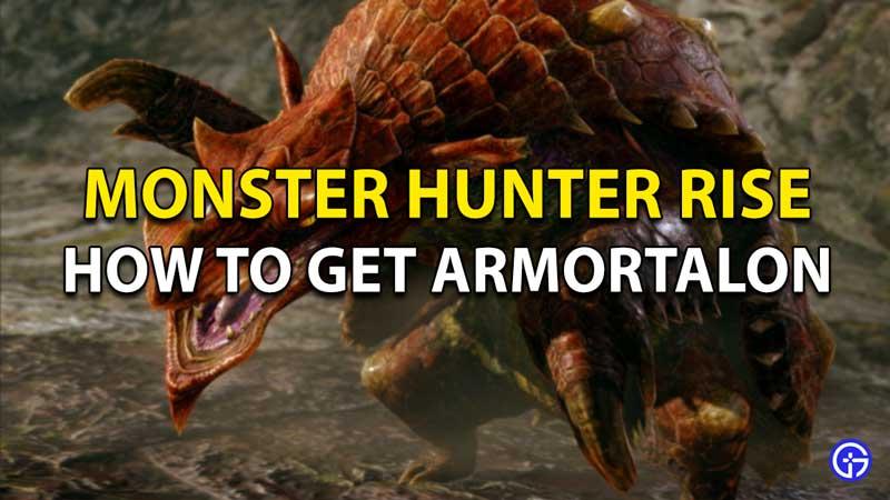 Monster Hunter Armortalon