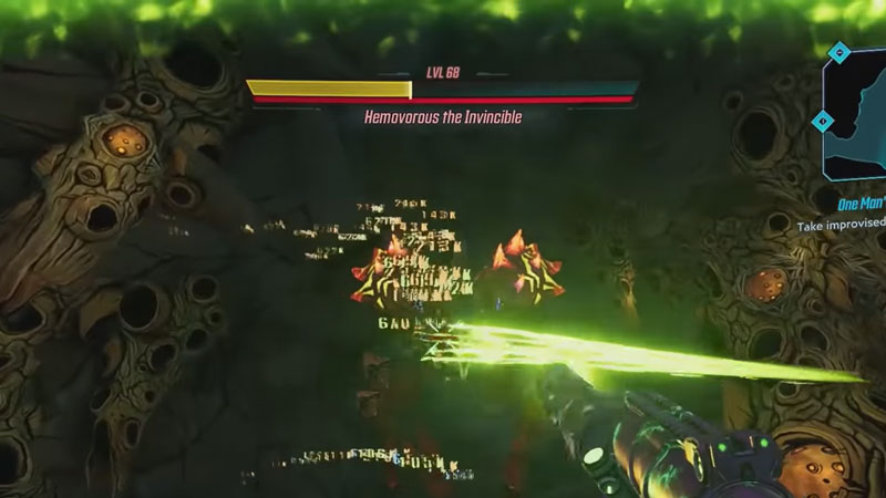 Borderlands 3 Hemovorous the Invincible location and loot