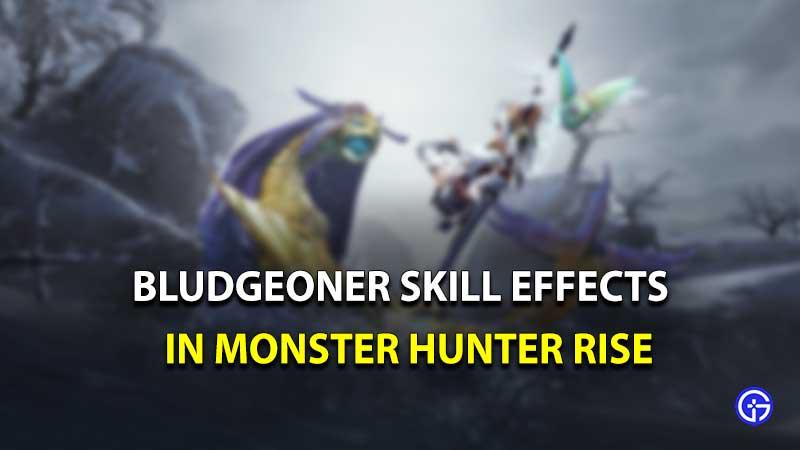 bludgeoner skill monster hunter rise