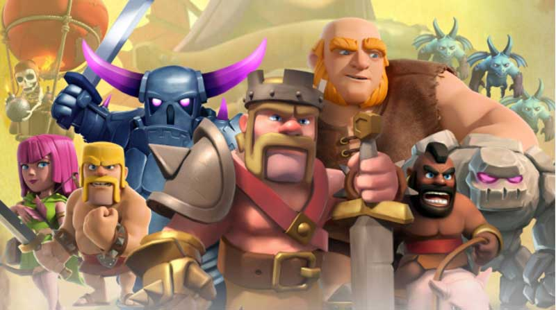 Upgrade Troops Clash of the Clans
