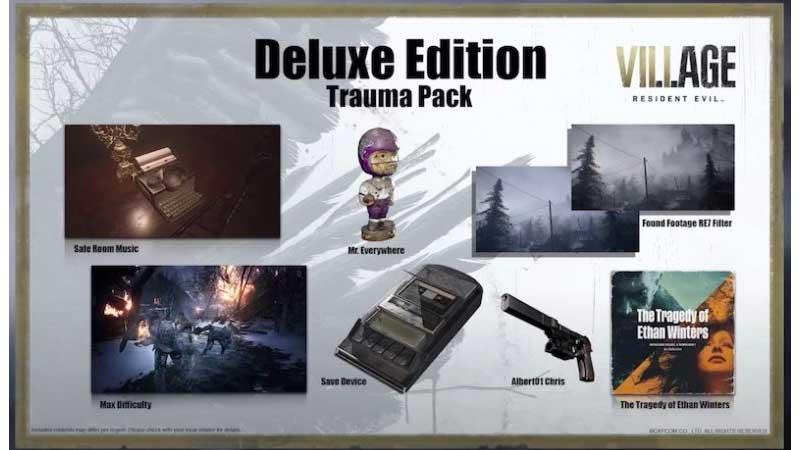 Pre-order bonus Resident Evil Village