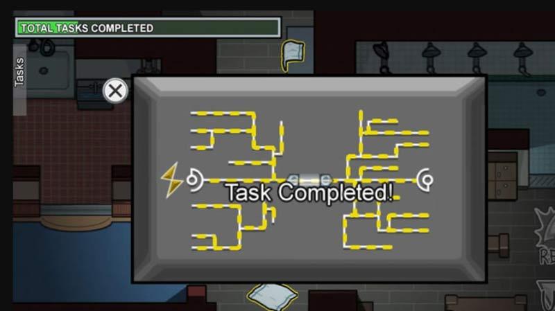 Complete Main Hall Tasks Among Us