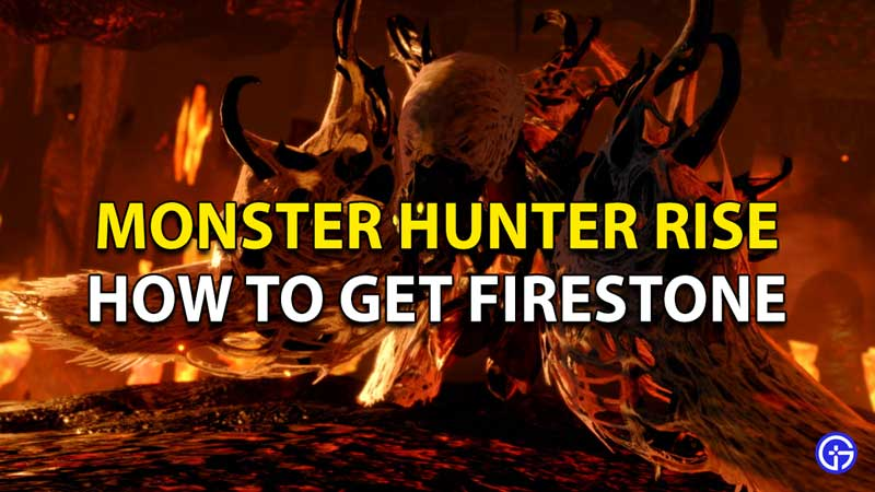 Monster Hunter Rise Firestone