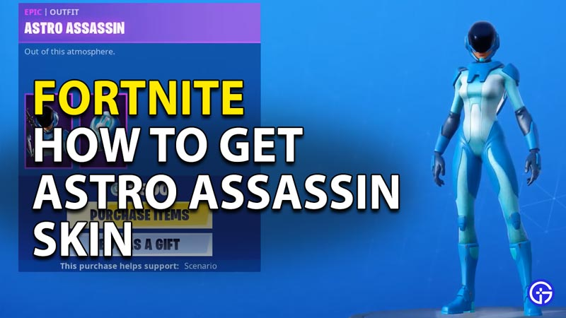Fortnite Astro Assassin