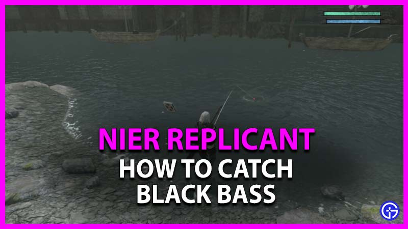 how to catch black bass in nier replicant