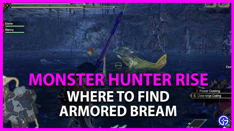 how to get armored bream in monster hunter rise