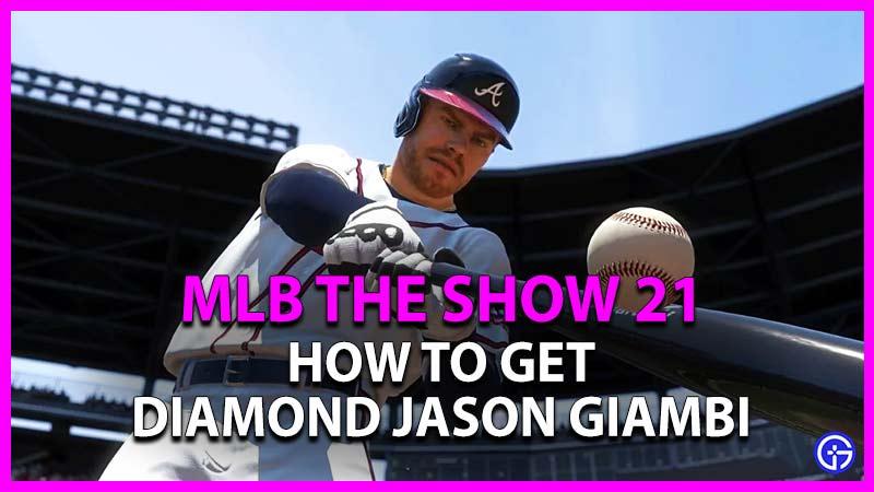 how to get diamond jason giambi in mlb the show 21