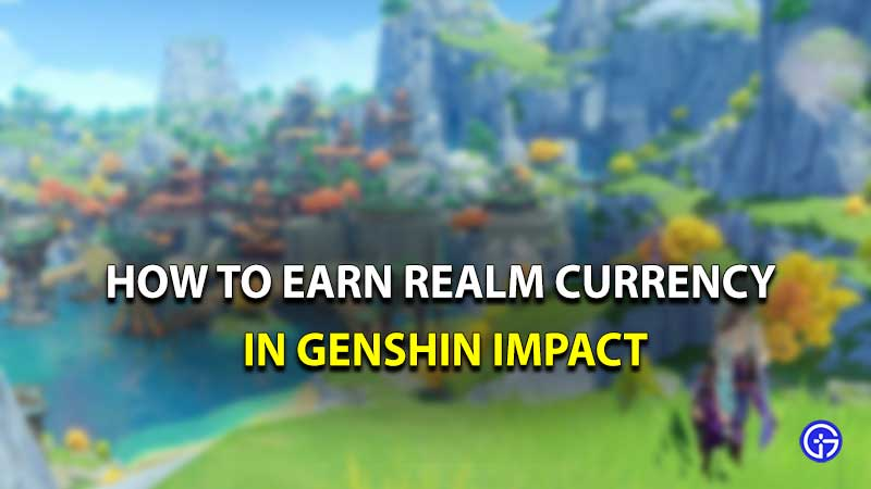 Genshin Impact Realm Currency