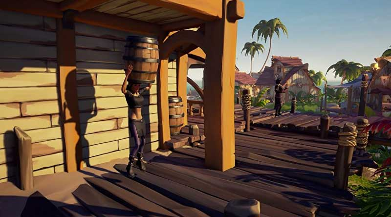 Sea of Thieves Barrel Disguise
