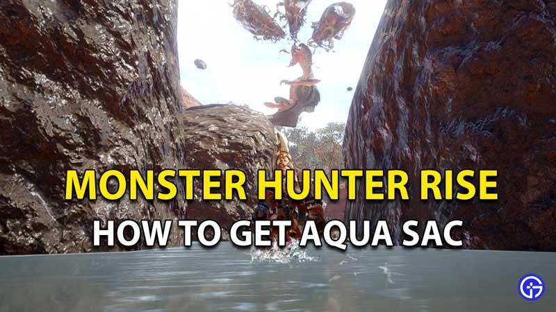 Monster Hunter Rise Aqua Sac