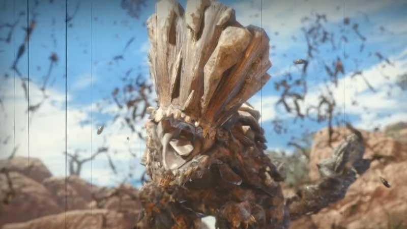 Monster Hunter rise Barroth