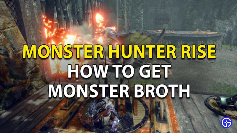 Monster Hunter Rise Monster Broth