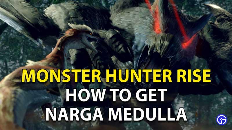 How To Get Narga Medulla In Monster Hunter Rise