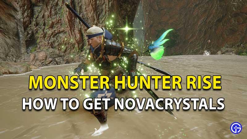 Monster Hunter Rise Novacrystals