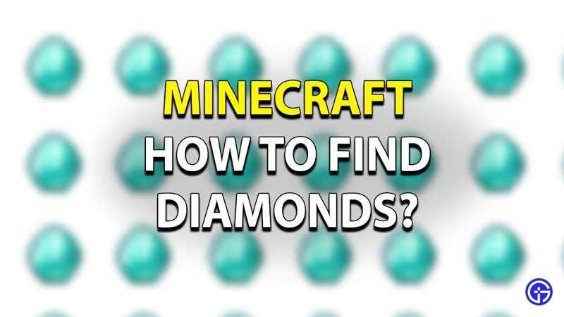 Minecraft Diamond Guide