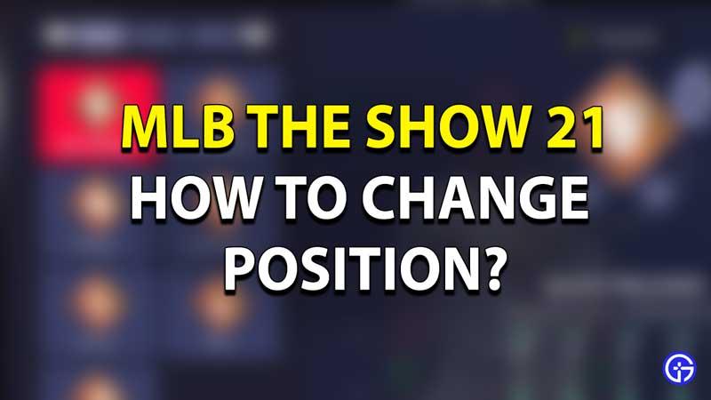 MLB 2021 Players Position
