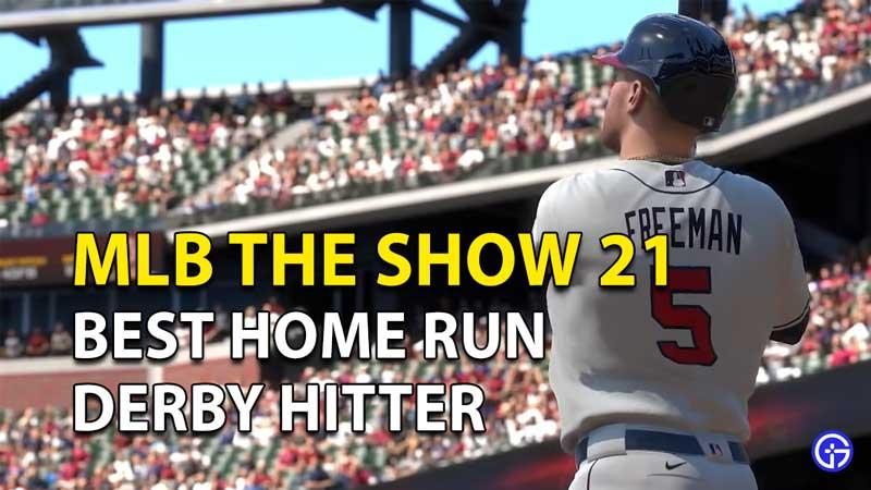 MLB The Show 21: Best Home Run Derby Hitter