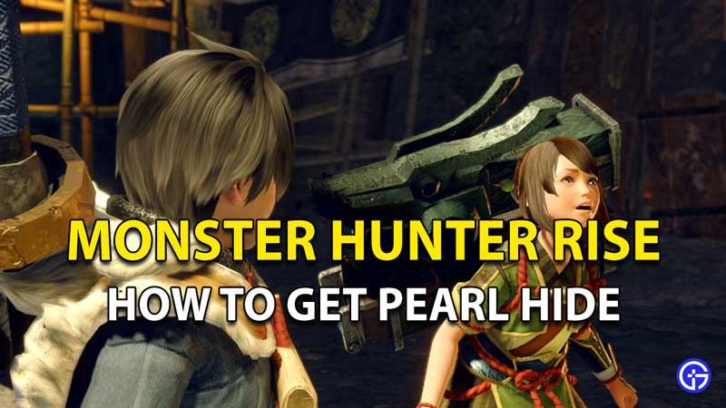 Monster Hunter Rise Pearl Hide