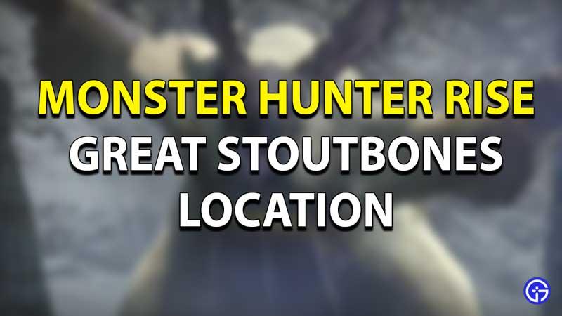 Monster Hunter Rise Great Stoutbones