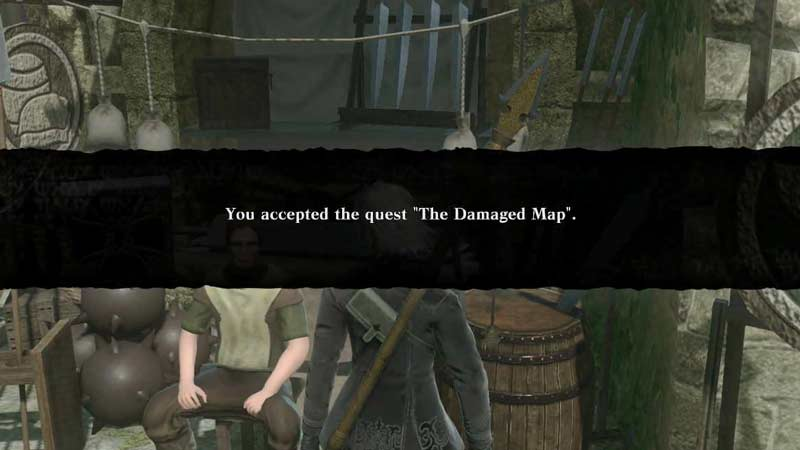 How To Complete The Damaged Map Quest In NieR Replicant