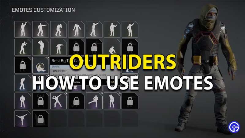 How to Emote in Outriders