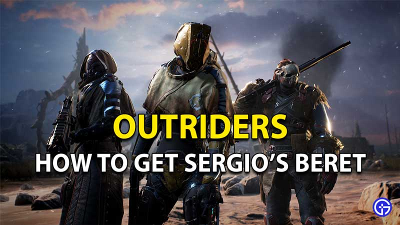 Outriders Sergio's Beret