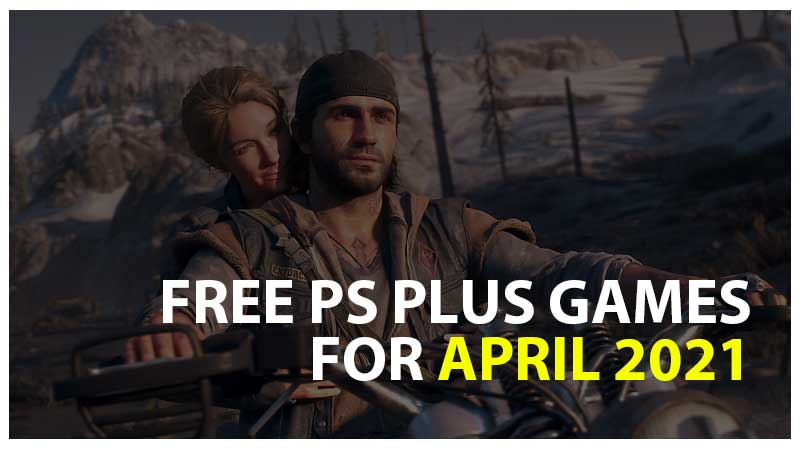 FREE PS Plus Games for 2021