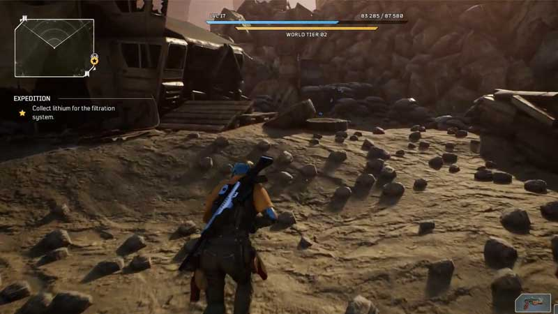how to get to the quarry in outriders