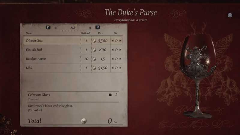 RE Village Dukes Purse