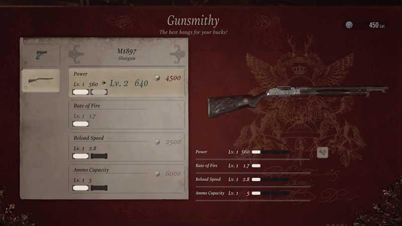 RE Village Gunsmithy